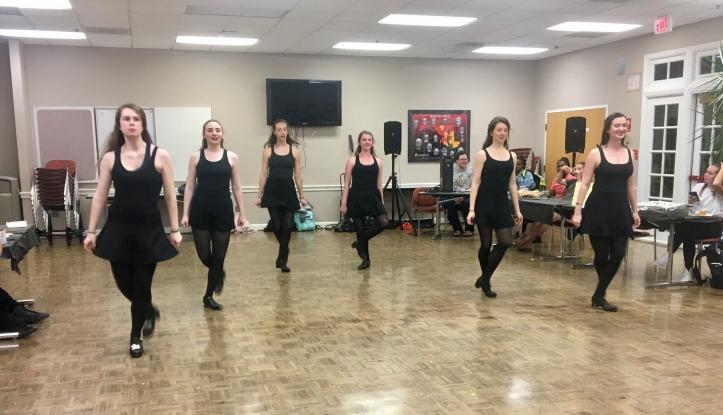 Celtic Grace Dance Troupe performs