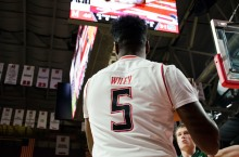 """The last two games, we've started really well,"""" Turgeon said. """"We really talked about playing 40 minutes tonight. We didn't play 40, but we're getting closer. Defensively, we probably played 34 minutes pretty well for us, and then offensively, we were probably around 28, 29, 30, so we're getting closer. That's pretty good."""""""